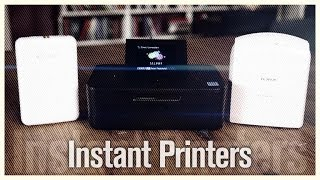 Instant smartphone printers