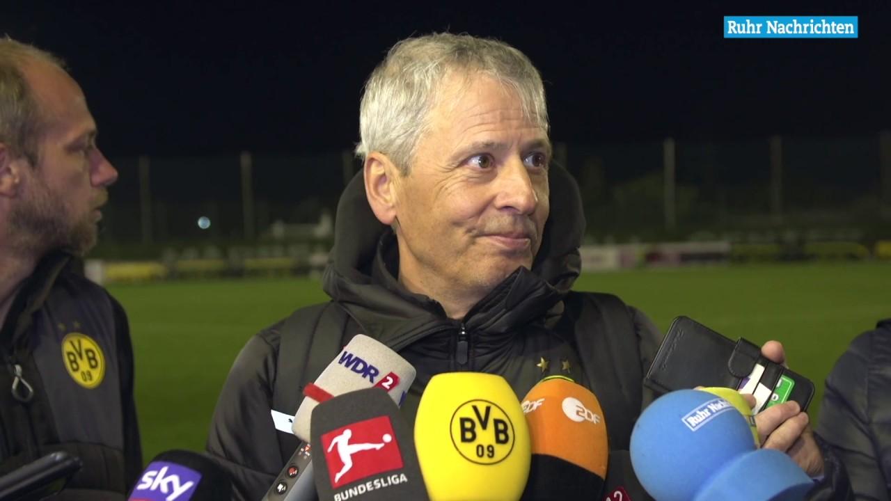 """BVB-Trainer Favre: """"Lächerlich, wie wir die Bälle verlieren"""""""