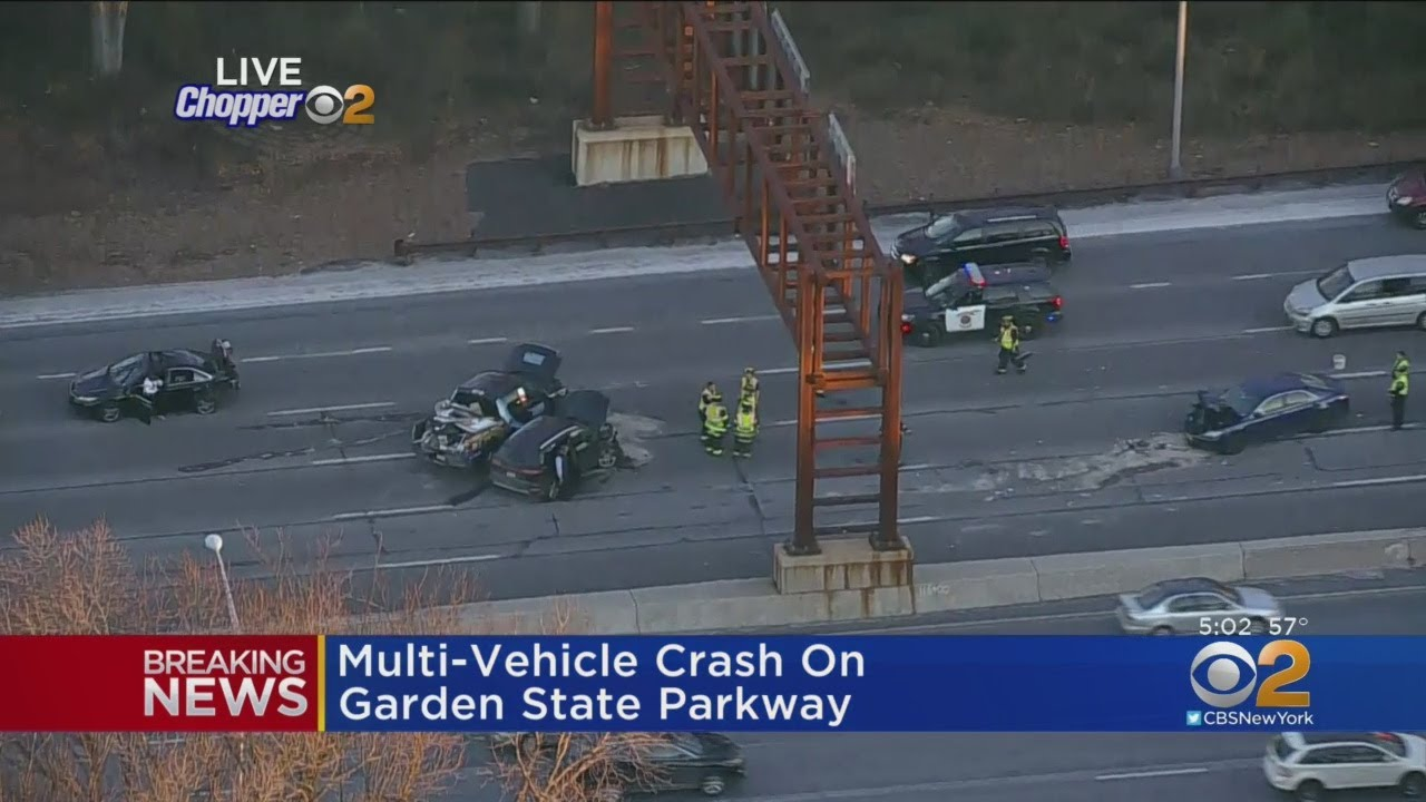 Multi car accident on garden state parkway youtube - Car accident garden state parkway ...