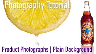 Photography Tutorial: How to take still life product photographs using a plain background.