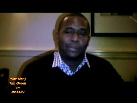 James Ross @ Tim Green - (Saxophonist) Inside Straight!! - Interview!!