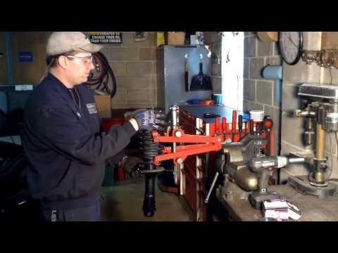 How to replace front struts VW A3