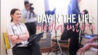 Day in the Life: MEDIA INTERN👩🏻💻 | Reese Regan