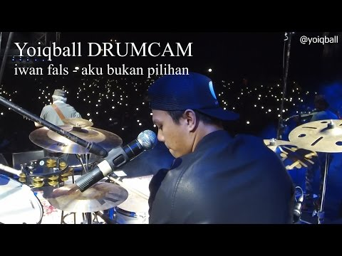 IWAN FALS - AKU BUKAN PILIHAN LIVE 3 SEPTEMBER 2016 (YOIQBALL DRUMCAM)