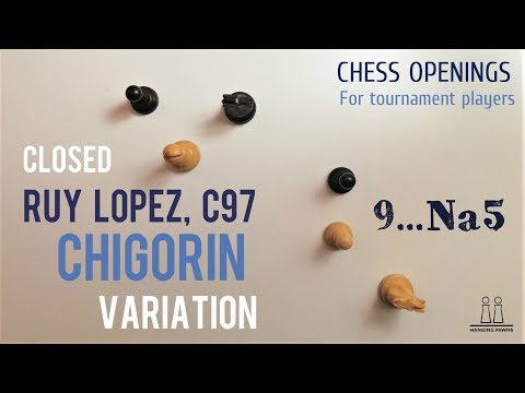 Chigorin Variation of the Closed Ruy Lopez (Spanish Game) ⎸Chess Openings