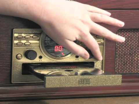 Encore 5in1 Wood Retro Stereo