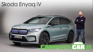Skoda Enyaq iV - detailed first look at Skoda's electric SUV