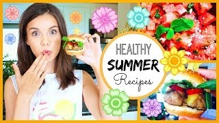 Quick & Healthy Summer Recipes! ♥ #hungryhealthyhappy