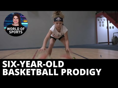 WATCH: Six-year-old basketball prodigy uses hoverboard in insane tricks