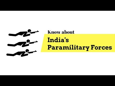 Know about India's Paramilitary Forces (CAPF)