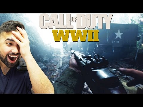Thumbnail: Call of Duty®: WWII Reveal Trailer REACTION
