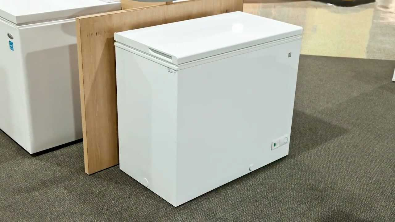 Ge Chest Freezer Youtube 100 Box