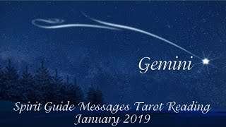 Gemini *A second opportunity is coming!* ~ January 2019