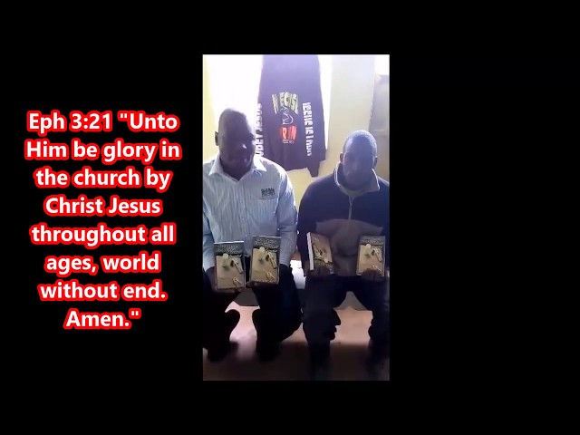 Did Jesus Correct Moses Book Arrives in Moi's Bridge Western Kenya