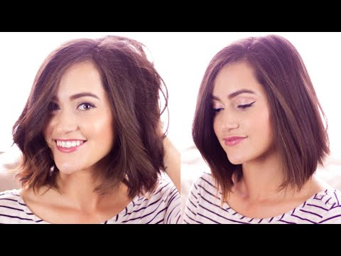 How I style My Short Hair | Hair Care & Everyday Hairstyles