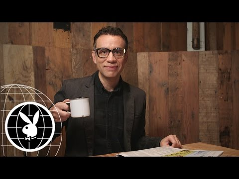 """Oh my God, I am Such a Human!"" Behind the Scenes with Fred Armisen"