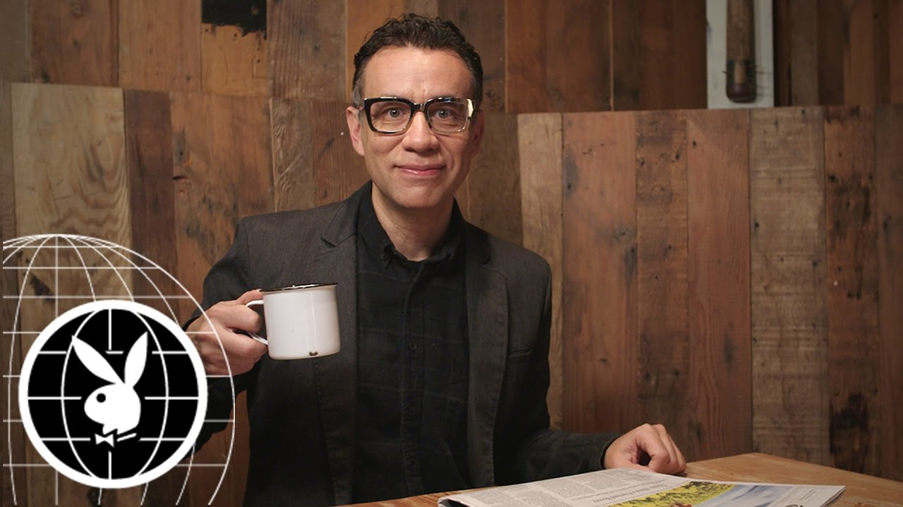 """""""Oh my God, I am Such a Human!"""" Behind the Scenes with Fred Armisen"""