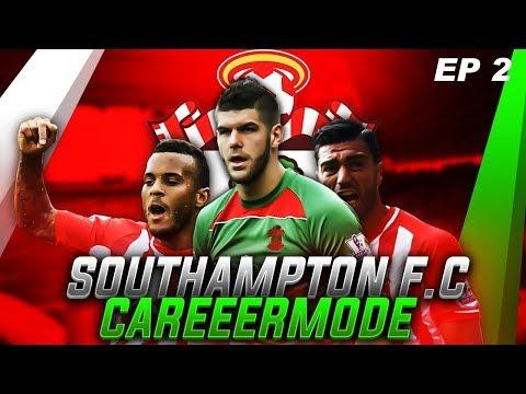 FIFA 18  SOUTHAMPTON F.C CAREER MODE!!! | EP 2 | STEVEN DAVIS GREW PACE?