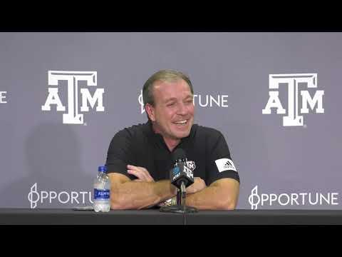 Texas A&M Coach Jimbo Fisher Previews LSU Game