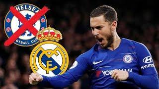 La inteligente jugarreta de Hazard para irse SI O SI al Real Madrid