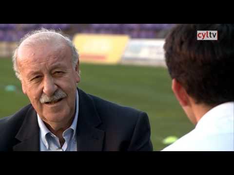 Encuentros deportivos: Vicente del Bosque y Diego Merino