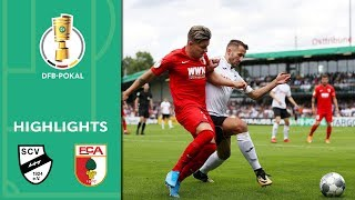 Augsburg out against 4th tier team | SC Verl vs. FC Augsburg 2-1 | Highlights | DFB Cup | 1st Round