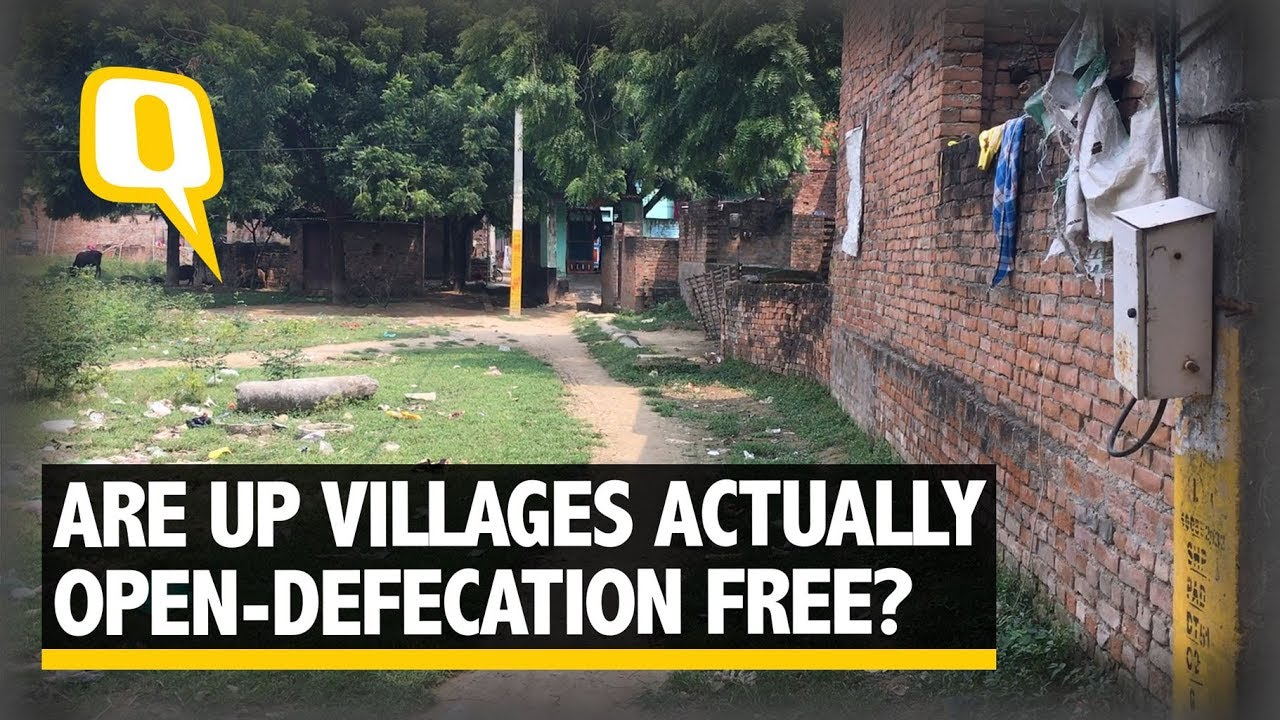 Download Here Is The Ground Reality in 'Open Defecation Free' UP Village   The Quint