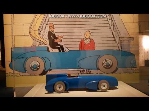 Hergé  Tintin Exposition RMN au Grand Palais