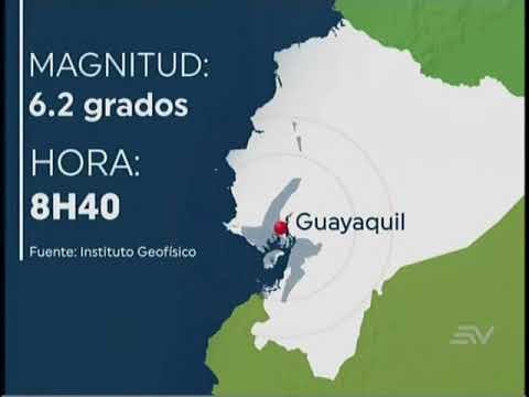 Sismo de 6.2 grados en Ecuador | FLASH