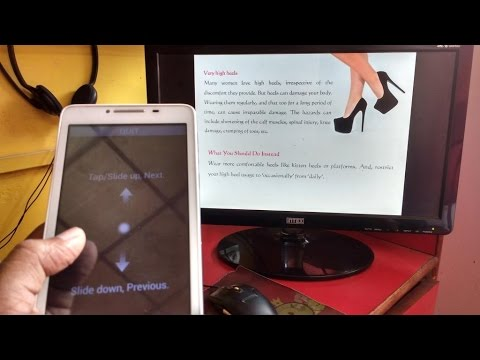 How To Control PowerPoint From Android Phone To PC Wireless No Internet