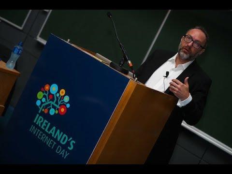 Jimmy Wales keynote speech at Ireland's Internet Day 2017