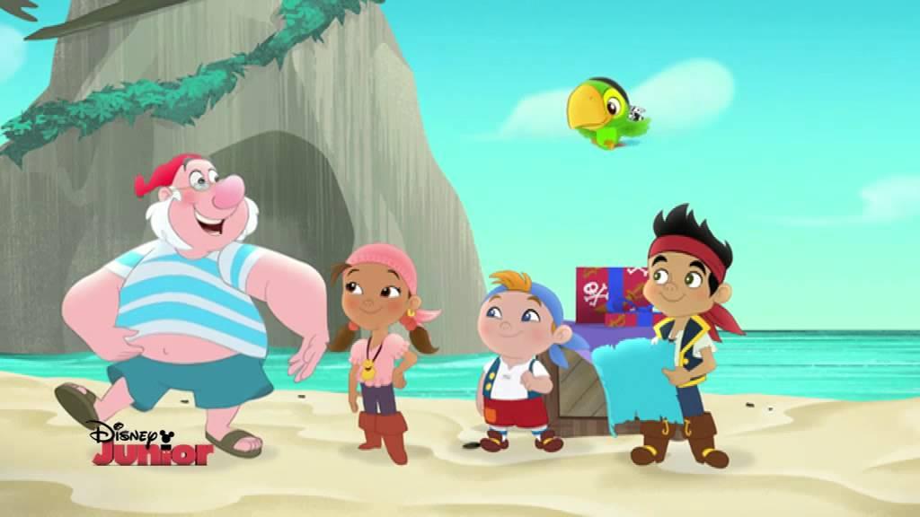 Jake e i pirati dell isola che non c è la mappa del