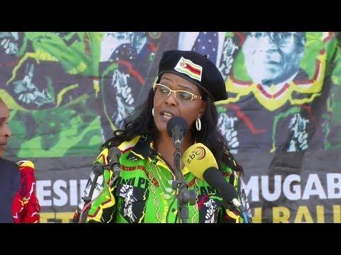 من هي غريس موغابي سيدة زيمبابوي الأولى؟  - نشر قبل 1 ساعة
