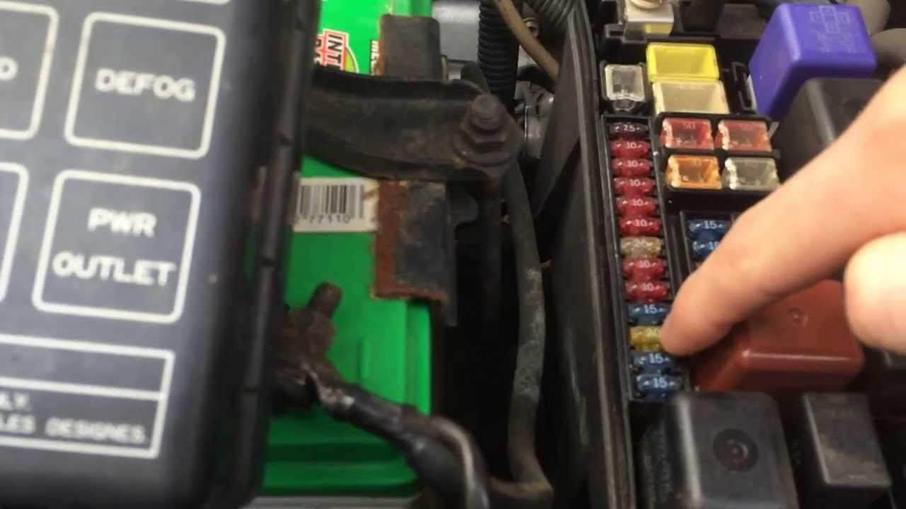 Toyota Fuse Box Diagram In Addition Ac Fuse Location Freightliner