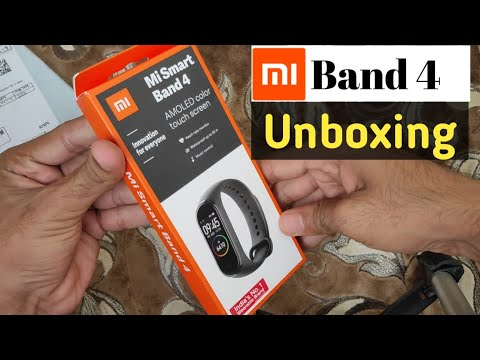 Mi Band 4 Unboxing and First Look Best Budget Fitness Band | Mi Band 4 Review
