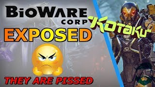 EA & Bioware EXPOSED By Kotaku On Anthem & They Are ANGRY!