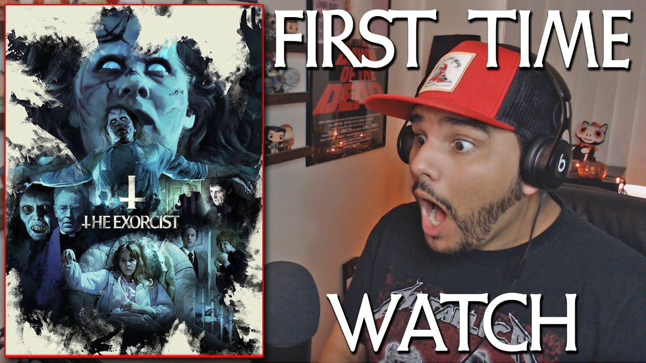 """Download FIRST TIME (I SWEAR) WATCHING """"THE EXORCIST"""" (1973) SCARIEST MOVIE I'VE EVER SEEN?"""
