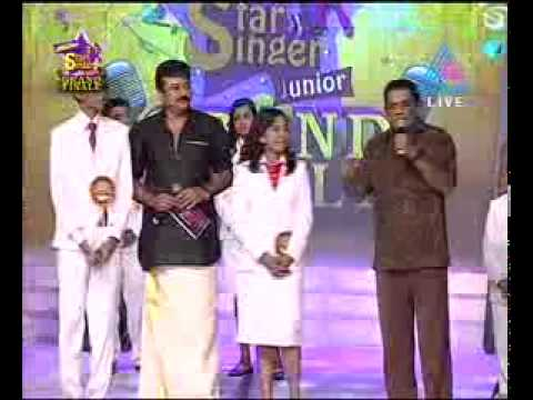 Jagathy sreekumar speaking out about ranjini haridas on munch star singer junior finale