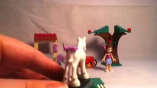 Lego Friends Olivia's Newborn Foal Review