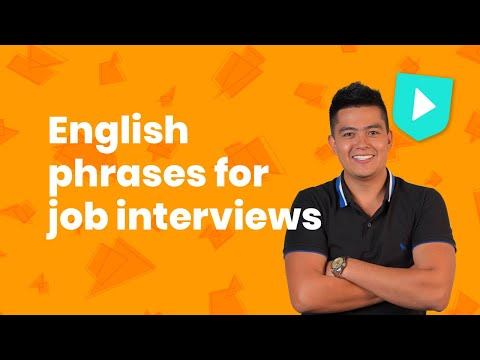 English Phrases For Job Interviews | Learn English With Cambridge