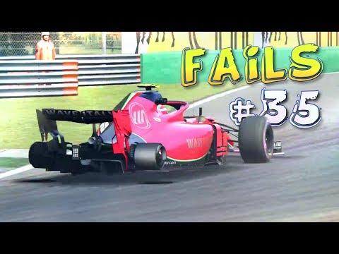 Racing Games FAILS Compilation #35
