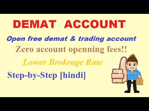How to Open Online Free Demat Account?(HINDI)