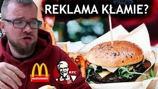 Nowości w McDonald's i KFC - REKLAMA vs. RZECZYWISTOŚĆ | GASTRO VLOG #220