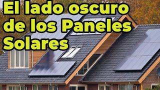 El verdadero problema de los paneles solares