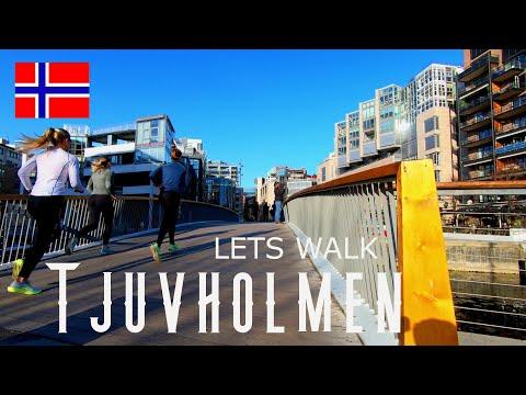 Walk Oslo Norway. 4k video // Akerbrygge / Tjuvholmen / travel channel / Astrup fearnley #oslo