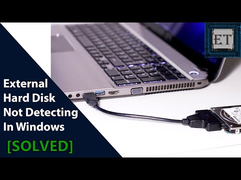 How To Fix External Hard Disk Not Detecting In Windows (No Drive Letter)
