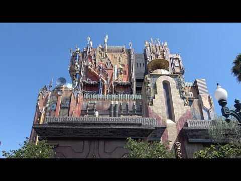 4K Guardians of the Galaxy: Mission Breakout FULL EXPERIENCE, Disney California Adventure