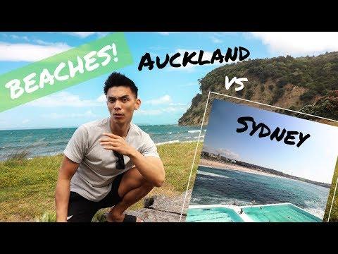 Sydney Vs Auckland Beaches