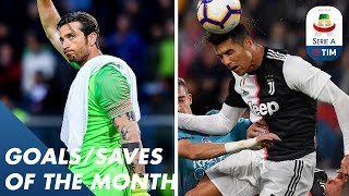 Ronaldo Screamers And Mirante Wonder Saves   Goals & Saves of the Month   Serie A