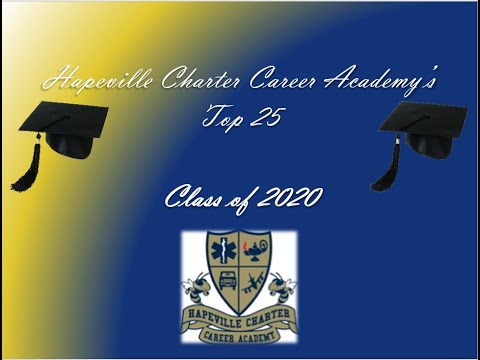 Hapeville Charter Career Academy's Top 25 for the Class of 2020